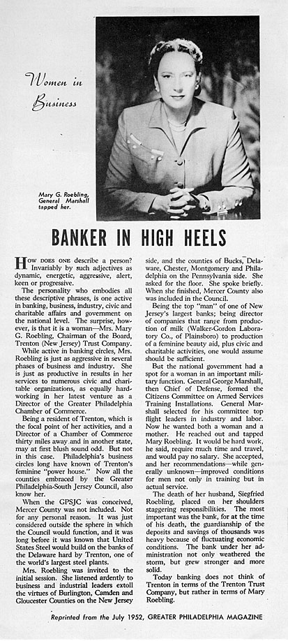 Image from the Greater Philadelphia Magazine, July 1952, courtesy of the Special Collections & University Archives, Rutgers University Libraries, New Brunswick, NJ