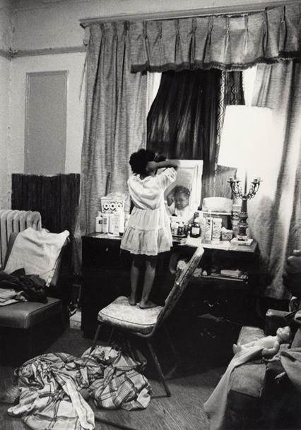 """""""Arnetha as a child while living in Newark,"""" Helen M. Stummer (1985) Image courtesy of Helen Stummer"""